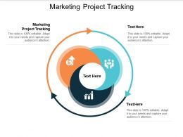Marketing Project Tracking Ppt Powerpoint Presentation File Ideas Cpb
