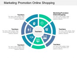 Marketing Promotion Online Shopping Ppt Powerpoint Presentation Summary Designs Cpb