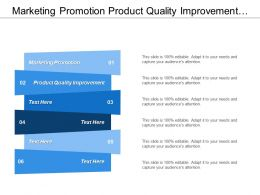 Marketing Promotion Product Quality Improvement Market Competition Analysis Cpb
