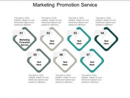 Marketing Promotion Service Ppt Powerpoint Presentation Show Cpb