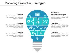 Marketing Promotion Strategies Ppt Powerpoint Presentation Icon Files Cpb