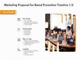 Marketing Proposal For Brand Promotion Timeline Last Call Ppt Powerpoint Presentation Outline Outfit