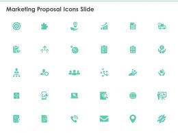 Marketing Proposal Icons Slide Ppt Powerpoint Presentation Slides Clipart Images