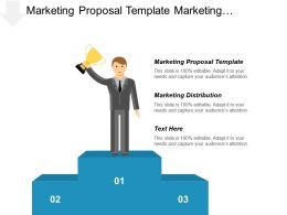 Marketing Proposal Template Marketing Distribution Management Diverse Workforce Cpb