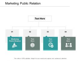Marketing Public Relation Ppt Powerpoint Presentation File Backgrounds Cpb