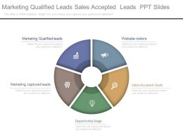Marketing Qualified Leads Sales Accepted Leads Ppt Slides