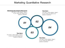 Marketing Quantitative Research Ppt Powerpoint Presentation Gallery Graphics Tutorials Cpb