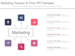 marketing quizzes and trivia ppt samples