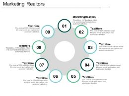 Marketing Realtors Ppt Powerpoint Presentation Show Pictures Cpb