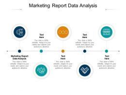 Marketing Report Data Analysis Ppt Powerpoint Presentation Icon Templates Cpb