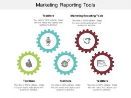 Marketing Reporting Tools Ppt Powerpoint Presentation Infographic Template Infographics Cpb