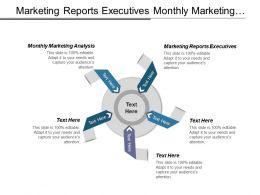 Marketing Reports Executives Monthly Marketing Analysis Optimize Marketing Channels Cpb