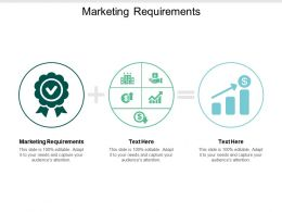 Marketing Requirements Ppt Powerpoint Presentation Slides Example Introduction Cpb