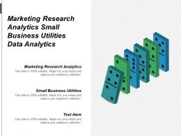 Marketing Research Analytics Small Business Utilities Data Analytics Cpb