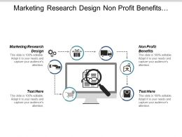 Marketing Research Design Non Profit Benefits Pricing Secrets Cpb
