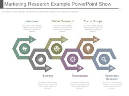 Marketing Research Example Powerpoint Show