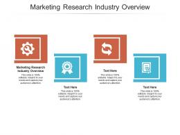 Marketing Research Industry Overview Ppt Powerpoint Presentation Outline Layouts Cpb