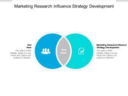 Marketing Research Influence Strategy Development Ppt Powerpoint Presentation Portfolio Background Cpb
