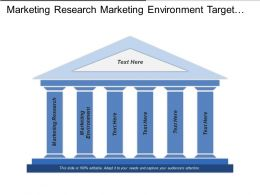 Marketing Research Marketing Environment Target Markets Marketing Channels