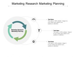 Marketing Research Marketing Planning Ppt Powerpoint Presentation Show Introduction Cpb