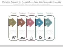 Marketing Research Mix Template Powerpoint Slide Presentation Examples