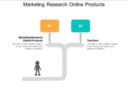 Marketing Research Online Products Ppt Powerpoint Presentation Model Vector Cpb