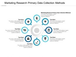 Marketing Research Primary Data Collection Methods Ppt Powerpoint Presentation Cpb