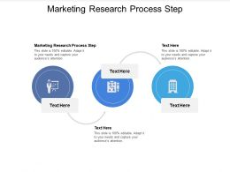 Marketing Research Process Step Ppt Powerpoint Presentation Infographic Template Design Ideas Cpb