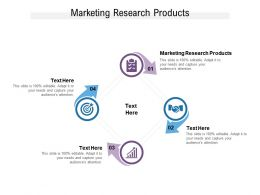 Marketing Research Products Ppt Powerpoint Presentation Infographics Design Cpb