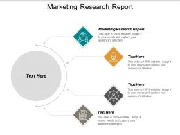 Marketing Research Report Ppt Powerpoint Presentation Styles Template Cpb