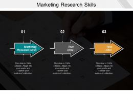 Marketing Research Skills Ppt Powerpoint Presentation Gallery Master Slide Cpb