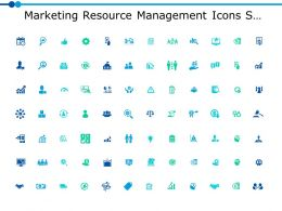 Marketing Resource Management Icons Slide Ppt Powerpoint Presentation Icon Maker