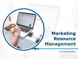 Marketing Resource Management Powerpoint Presentation Slides