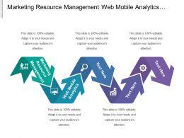 Marketing Resource Management Web Mobile Analytics Product Planning