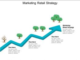Marketing Retail Strategy Ppt Powerpoint Presentation Infographics Design Templates Cpb