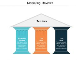 Marketing Reviews Ppt Powerpoint Presentation File Images Cpb