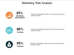 Marketing Risk Analysis Ppt Powerpoint Presentation Professional Images Cpb