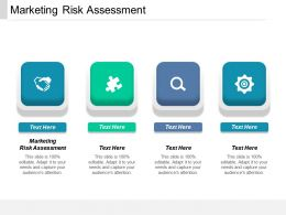 Marketing Risk Assessment Ppt Powerpoint Presentation File Portrait Cpb