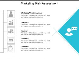 Marketing Risk Assessment Ppt Powerpoint Presentation Layouts Graphics Cpb