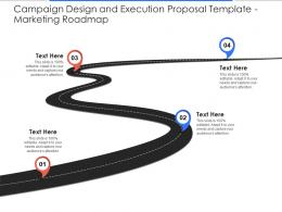 Marketing Roadmap Campaign Design And Execution Proposal Template Ppt Powerpoint Images