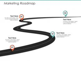 Marketing Roadmap Logistics Operations In Supply Chain Ppt Background