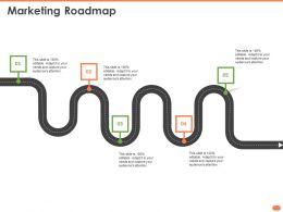 Marketing Roadmap N326 Powerpoint Presentation Elements