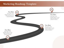 Marketing Roadmap Template Ppt Powerpoint Presentation Ideas Examples