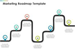 Marketing Roadmap Template R417 Ppt Powerpoint Presentation Inspiration Skills