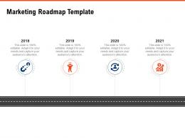 Marketing Roadmap Template Requirement Gathering Methods Ppt Powerpoint Presentation Show Example