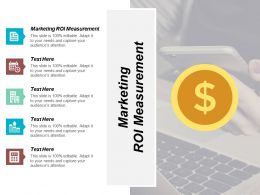Marketing Roi Measurement Ppt Powerpoint Presentation Professional Example Cpb