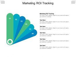 Marketing Roi Tracking Ppt Powerpoint Presentation Infographic Template Structure Cpb