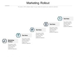Marketing Rollout Ppt Powerpoint Presentation Ideas Examples Cpb