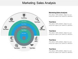 Marketing Sales Analysis Ppt Powerpoint Presentation Styles Pictures Cpb