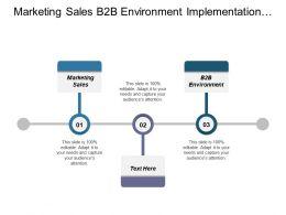 Marketing Sales B2b Environment Implementation Big Data Analytics Cpb